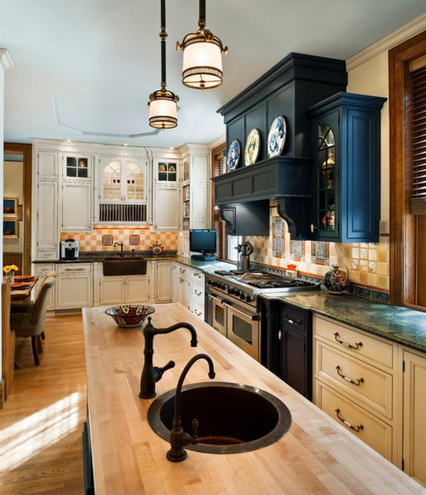 traditional kitchen idea 13