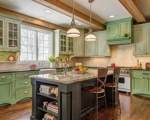 traditional kitchen idea 44