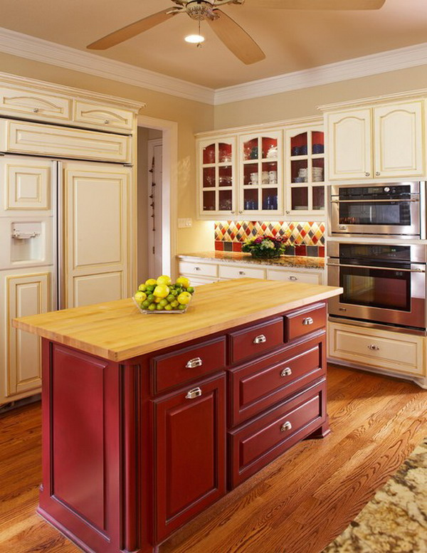 traditional kitchen idea 47