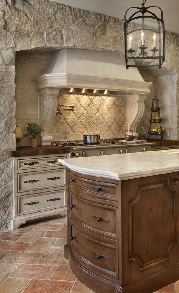 traditional kitchen layout 39