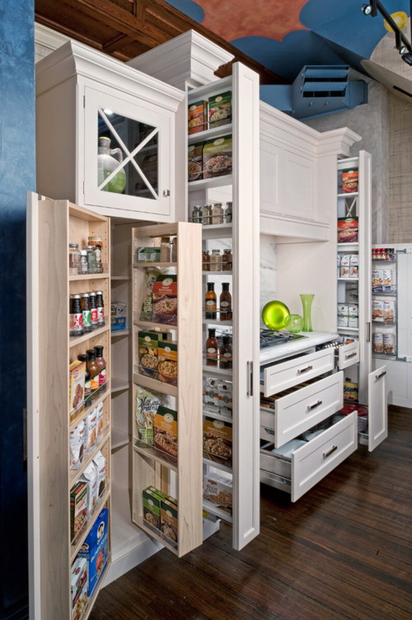 traditional kitchen storage 1