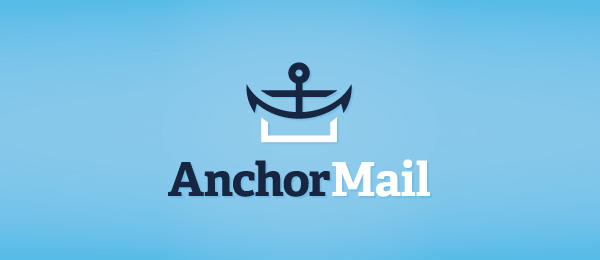 blue anchor mail logo 4