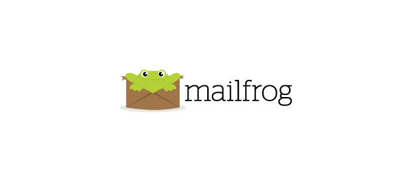mail frog logo design 45