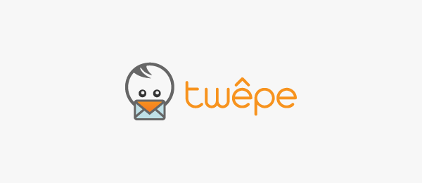 mail logo bird twepe 15