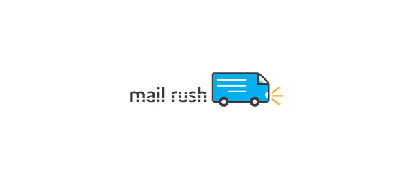 mail logo bus rush 13