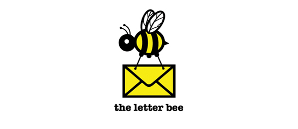 mail logo the letter bee 34