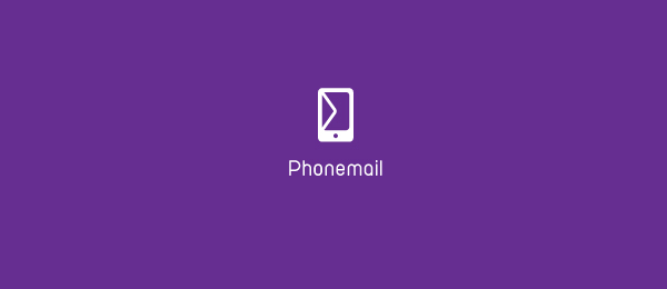 purple phone mail logo 2