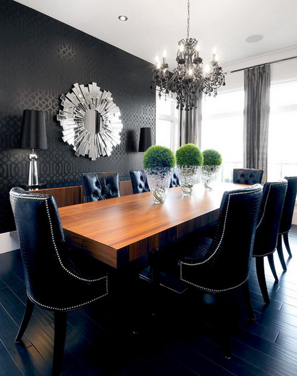 Charming Modern Dining Room Ideas Part - 4: Contemporary Dining Room 3