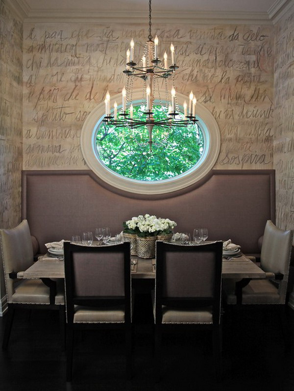 contemporary dining room 4