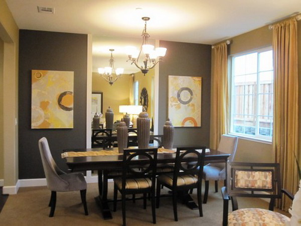 contemporary dining room design 40