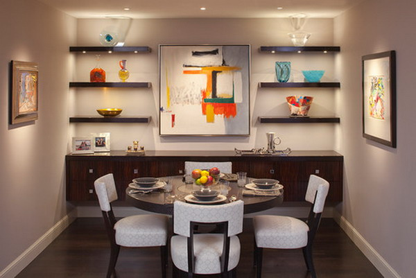 Captivating Modern Dining Room 8