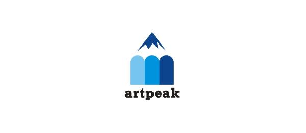 blue mountain logo pencil 44