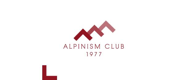 mountain logo alpinism club 34