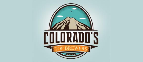 mountain logo colorados top brewer 25