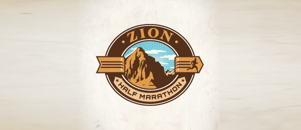mountain logo half marathon 15