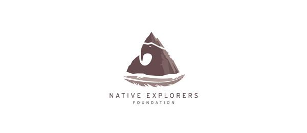 mountain logo native explorers 12