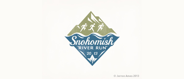 mountain logo river run 2