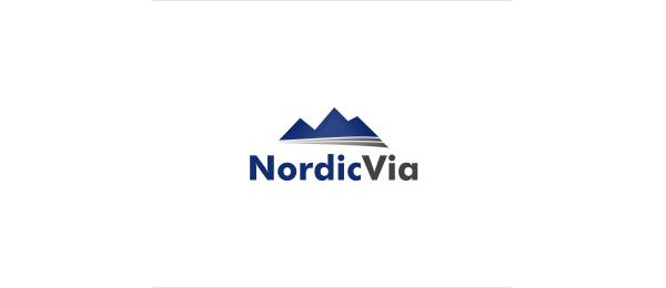 mountain logo transport company 28