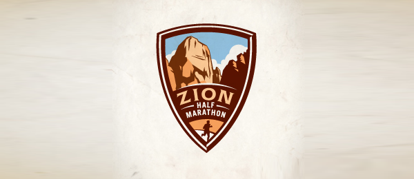 mountain logo zion half 16