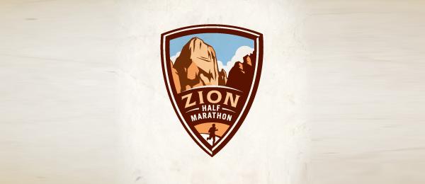 mountain logo zion half 16