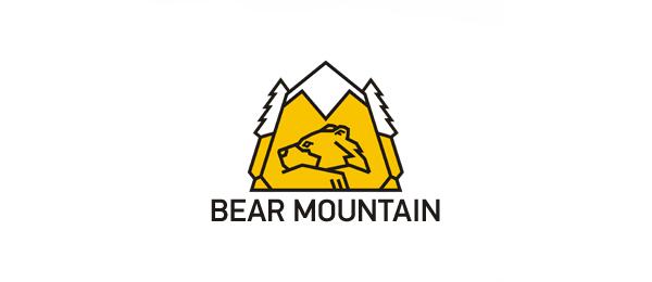 yellow bear mountain logo 1