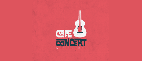 guitar music logo cafe concert 4