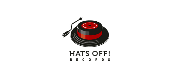 music logo hats off 35