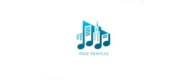 music logo muz town 44