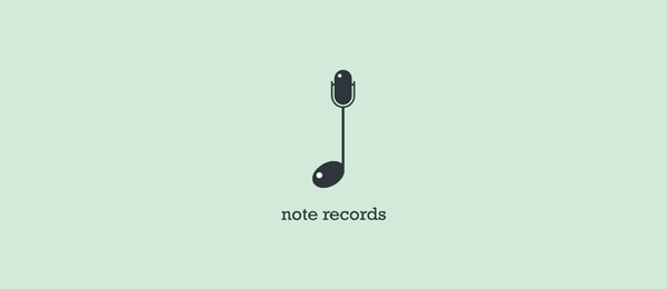 music logo note records 6