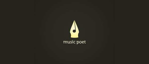 music poet logo idea 41