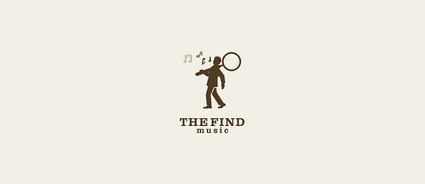 the find music logo 23