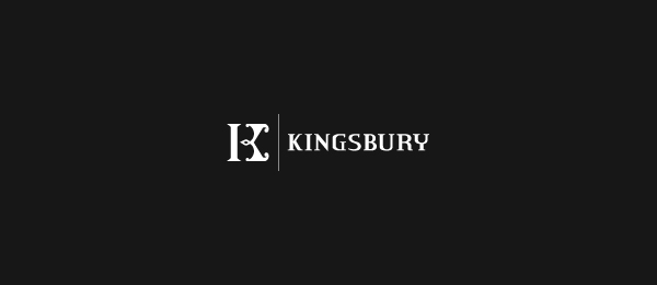 negative space logo kings bury 39