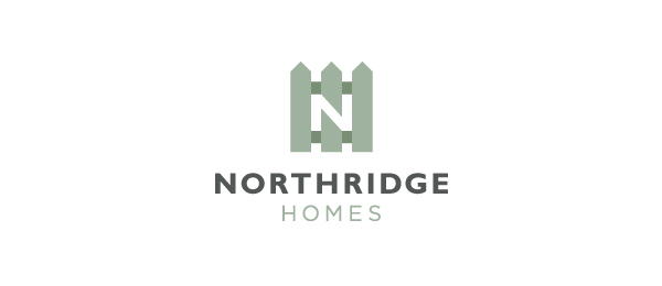 negative space logo northridge homes 47