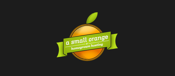 a small orange logo 46
