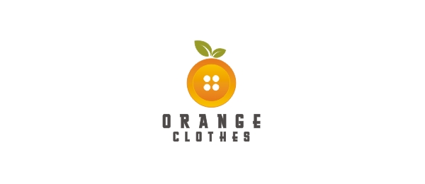 orange clothes logo 34