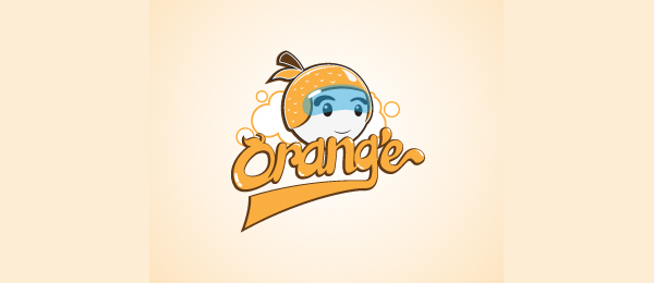 orange hat logo design 43