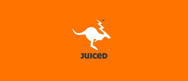 orange kangaroo logo juiced 17