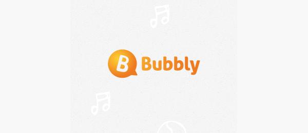 orange logo bubbly 30
