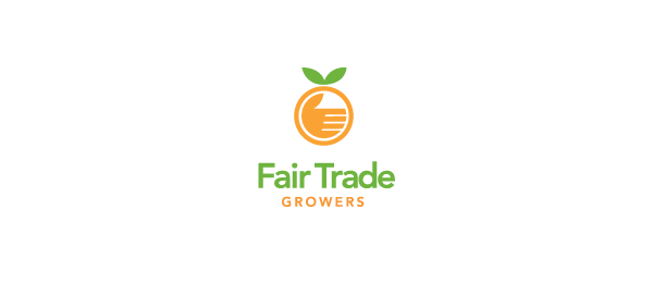 orange logo fair trade growers 4