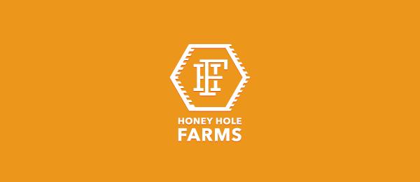orange logo honey hole farms 6