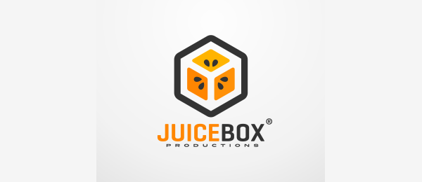 orange logo juice box 52