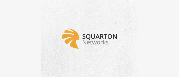orange logo squarton networks 32