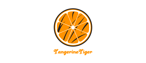 orange logo tangerine tiger 29