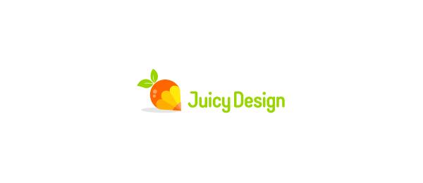 orange pencil logo juicy design 22
