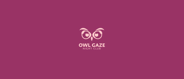 owl gaze logo idea 38