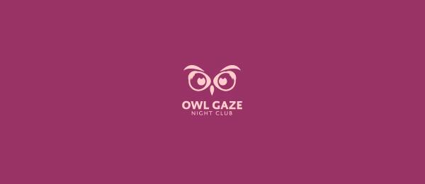 owl gaze logo idea 38