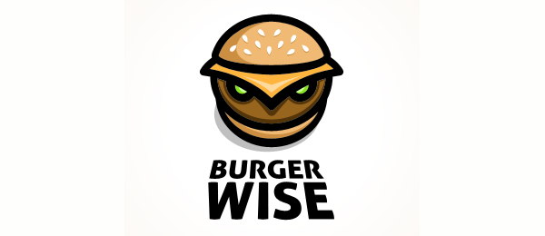 owl logo burger wise 49