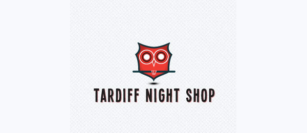 owl logo night shop 33