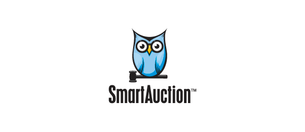 owl logo smart auction 13