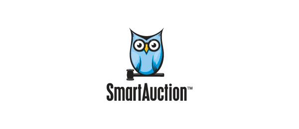 owl logo smart auction 13